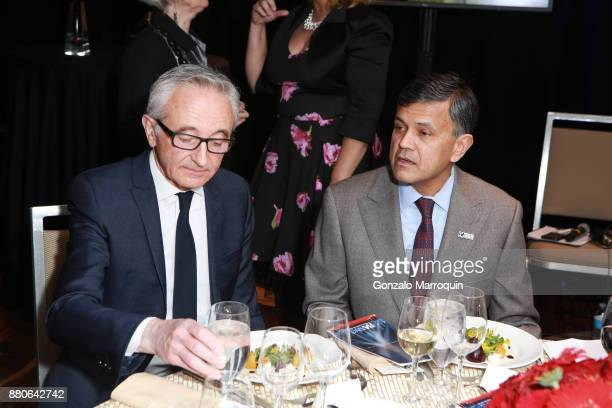 Herve Houdre and Vijay Dandapani during the Hotel Association of New York City hosts 'The Red Carpet Hospitality Gala' HANYC's Annual Dinner/Dance at...