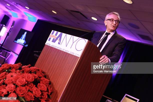 Herve Houdre during the Hotel Association of New York City hosts 'The Red Carpet Hospitality Gala' HANYC's Annual Dinner/Dance at Sheraton New York...
