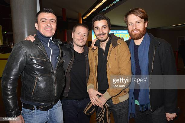 Herve Joseph Lebrun, Frederic Jean-Jacques, Jonathan Taieb and Kalin Linsberg attend the 'Cheries Cheris' - LGBT 20th Festival - : Closing Ceremony...