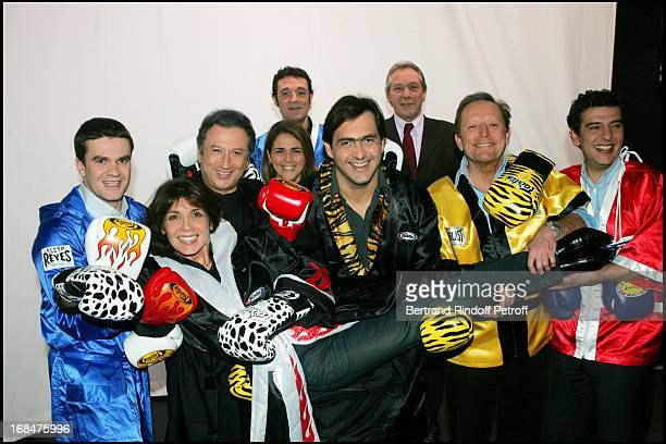 Herve Mathoux Stephanie Fugain Remi Cohen Valerie Benaim Emmanuel Chain JeanClaude Bouttier Roger Zabel and Thierry Gilardi at The Gala Ring 2005 At...
