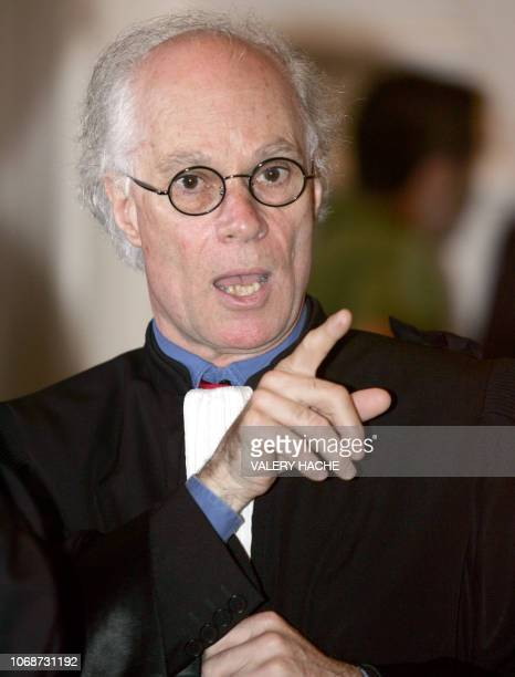 Herve RouzaudLe Boeuf lawyer for the Dickinson family is pictured 27 June 2005 at the court house in SaintBrieuc on the fifth day of the retrial of...