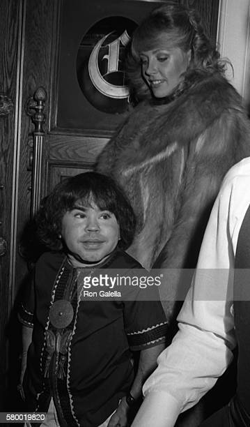 Herve Villechaize attends Golden Apple Awards on December 11 1983 at the Beverly Wilshire Hotel in Beverly Hills California