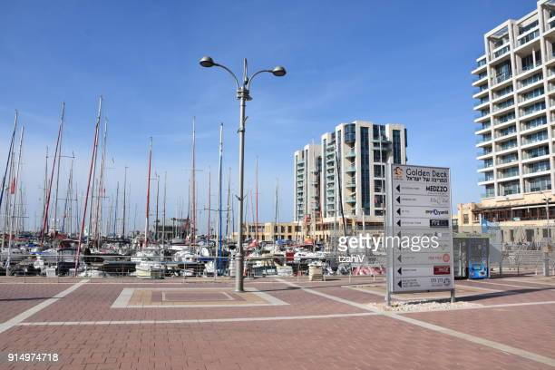 Herzliya Marina, Israel.