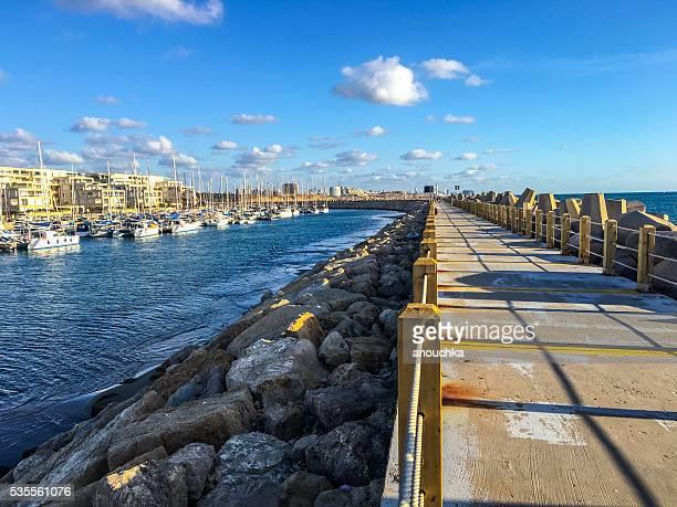 Herzliya Marina Promenade, Tel Aviv, Israel