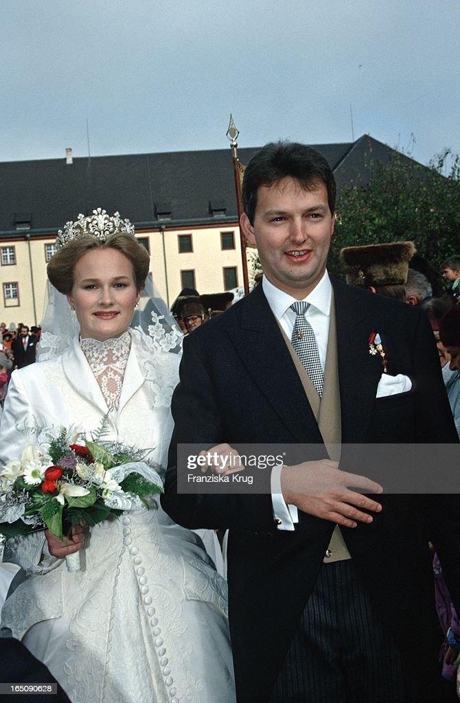 Herzog Friedrich Von Württemberg Und Prinzessin Marie Zu Wied Be : News Photo