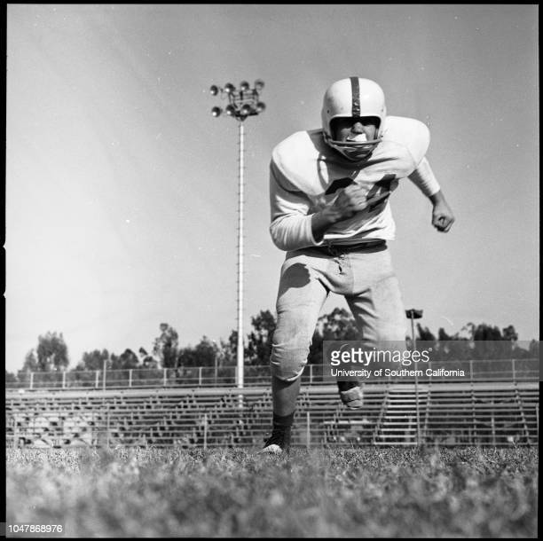 He's a Big Gun on the Gridiron 11 November 1956 Bill DaleyCoach 'Tuck' TuckerSupplementary material includes a newspaper clipping from the November...