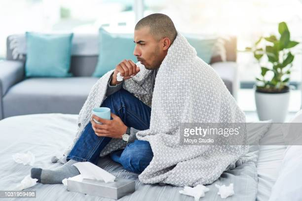 he's a little under the weather - cough stock pictures, royalty-free photos & images
