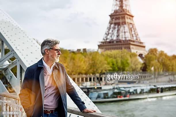 He's a Parisian at heart