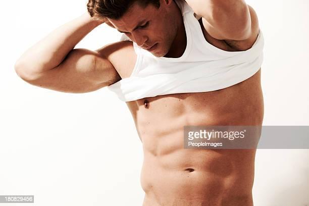 he's a perfect 10 - dressed undressed fotografías e imágenes de stock