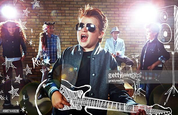 Er ist ein rockstar in sich!