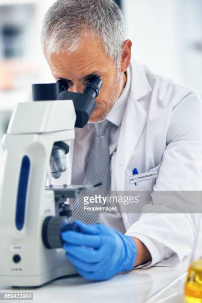 He's a skilled microbiologist