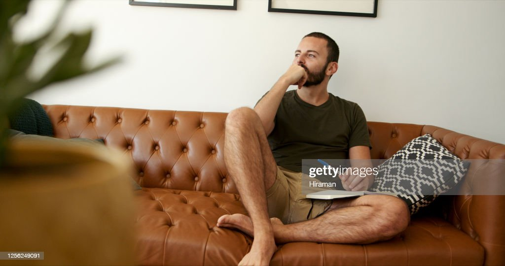 He's always aspired to become an author : Stock Photo