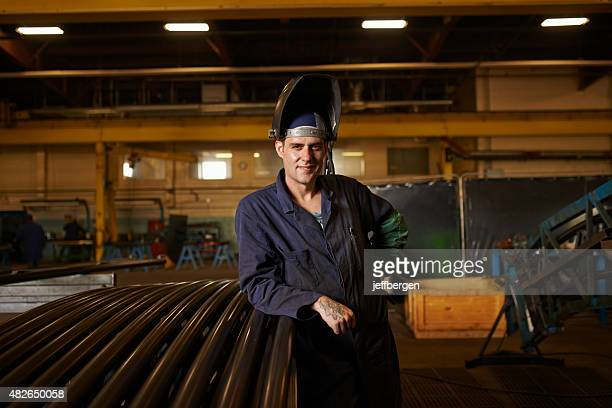 He's an experienced metal worker