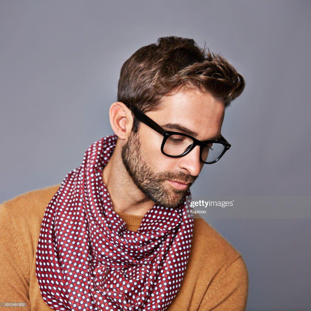 Er Hat Einen Einzigartigen Look Stock-Foto - Getty Images
