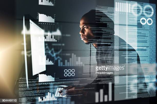 He's got his eyes on your data