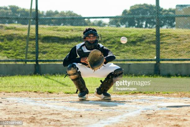 he's got it - baseball catcher stock pictures, royalty-free photos & images
