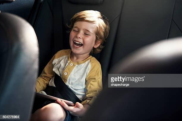 He's having a laugh
