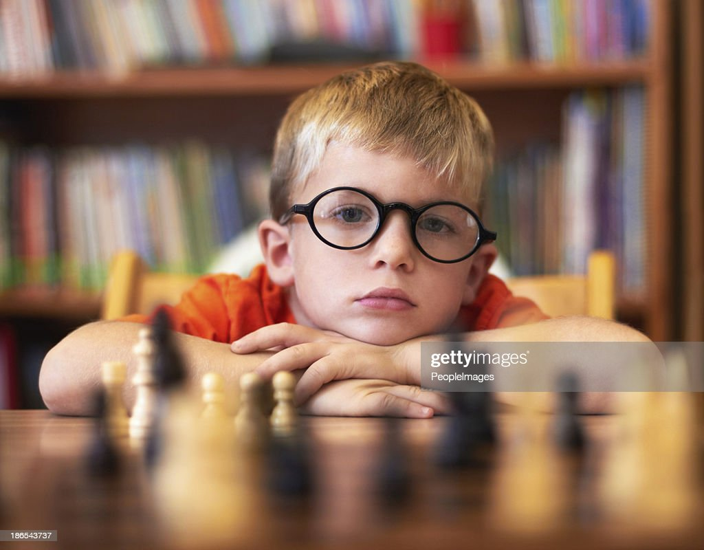 He's in need of better opponents! : Stockfoto