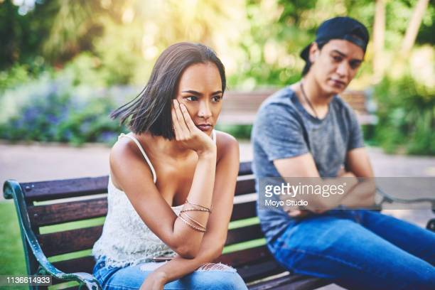 he's just so annoying - couple arguing stock photos and pictures