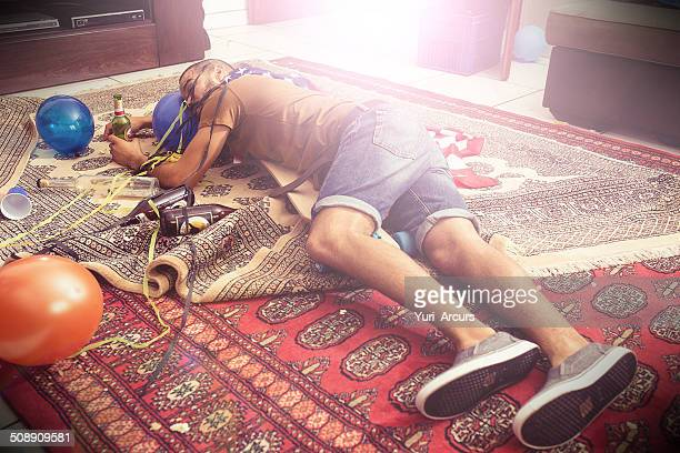 he's out - hangover after party stock pictures, royalty-free photos & images