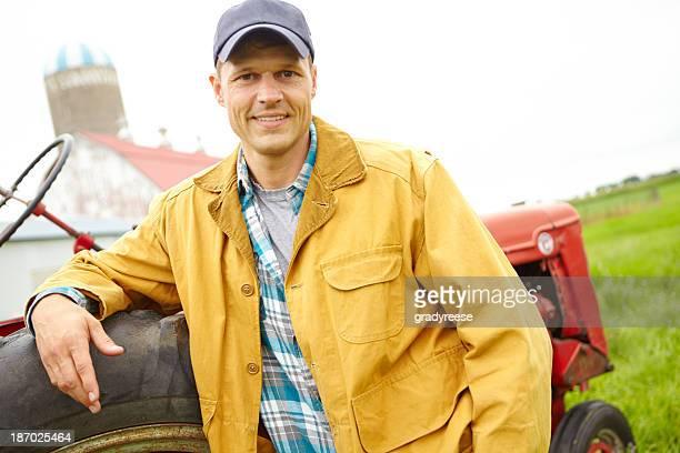 Er begeistert von der Landwirtschaft