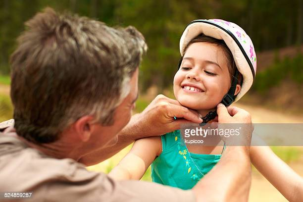 he's the best dad ever - cycling helmet stock pictures, royalty-free photos & images