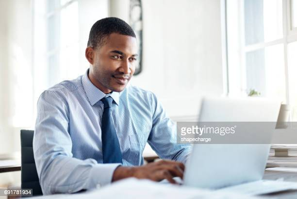 he's the best when it comes to business - using computer stock photos and pictures