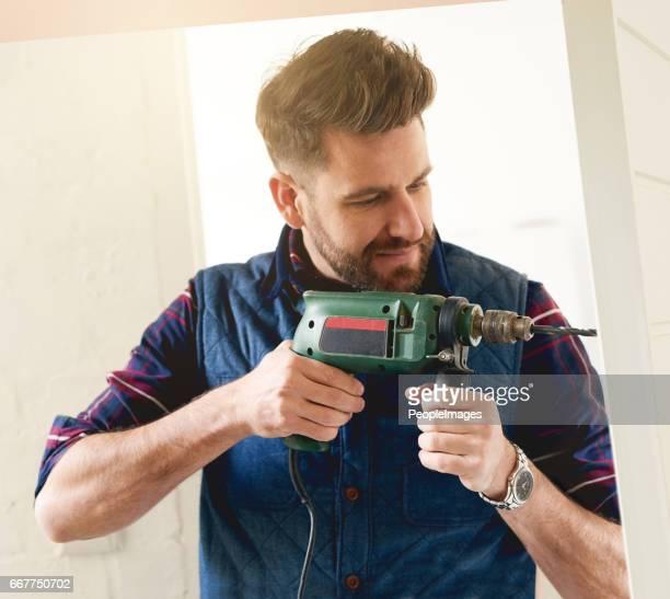 Er ist der Mann für die Arbeit