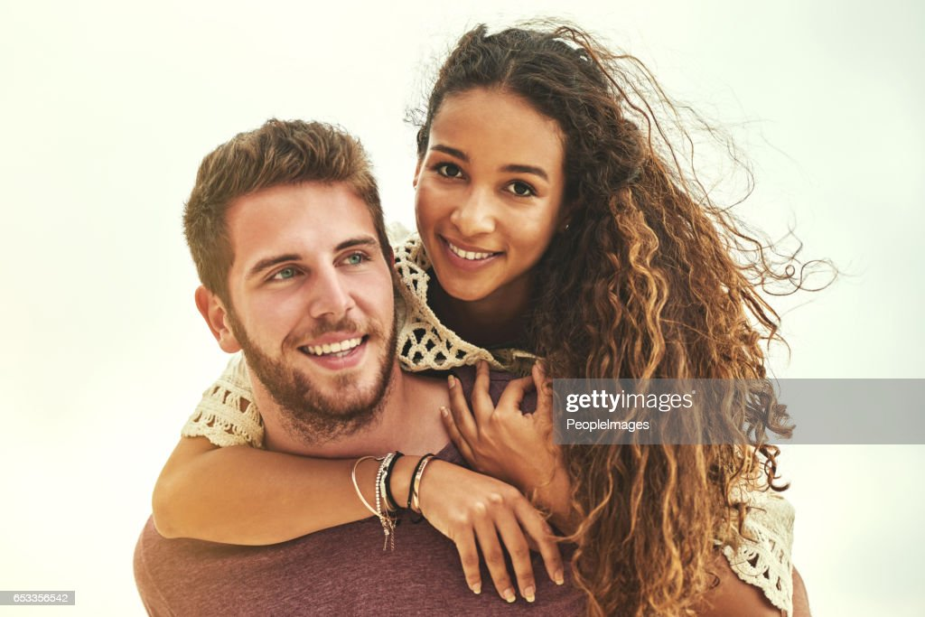 He's the one that I love : Stock Photo