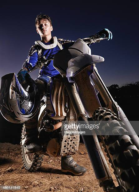 He's the poster boy for dirtbiking