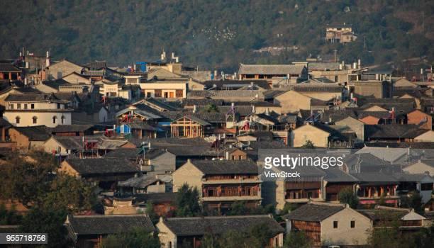 heshun ancient town of tengchong county,yunnan province,china - provinz yunnan stock-fotos und bilder