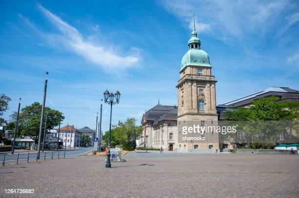 hessisches landesmuseum darmstadt, germany - darmstadt stock-fotos und bilder