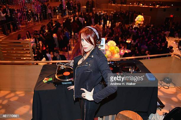Hesta Prynn performs at the 'Girls' Season Three premiere after party at Jazz at Lincoln Center on January 6 2014 in New York City