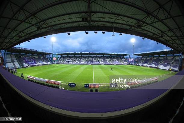 Het Olympisch Stadion - T Kiel before the Pro League match between Beerschot and Club Brugge at Olympic Stadium on January 17, 2021 in Antwerp,...