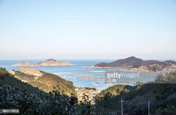 heuksando - ls island stock photos and pictures