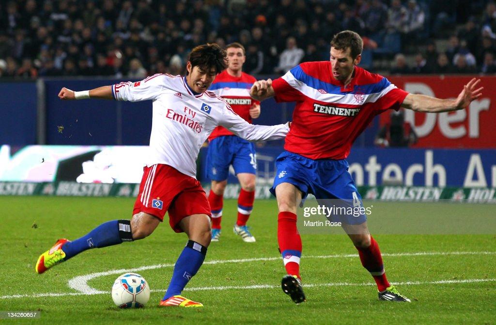 Hamburger SV v Glasgow Rangers - Season Friendly