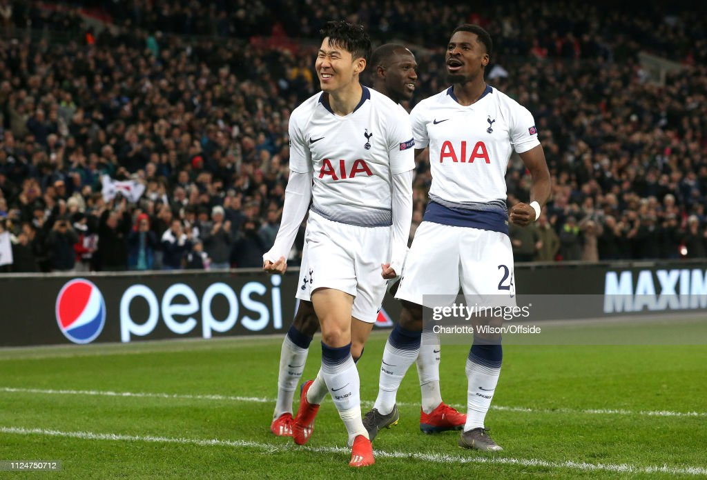Tottenham Hotspur v Borussia Dortmund - UEFA Champions League Round of 16: First Leg : News Photo