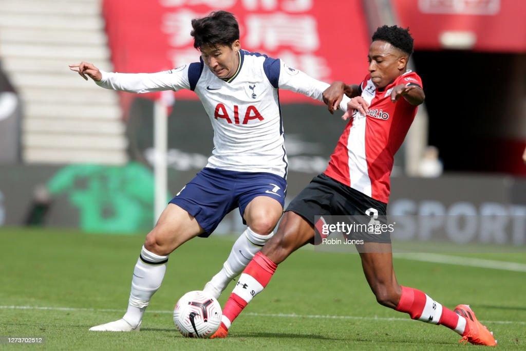 Southampton v Tottenham Hotspur - Premier League : Photo d'actualité