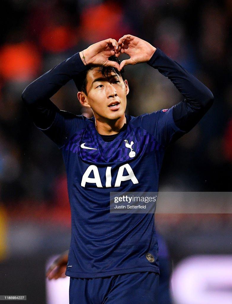 Crvena Zvezda v Tottenham Hotspur: Group B - UEFA Champions League : ニュース写真