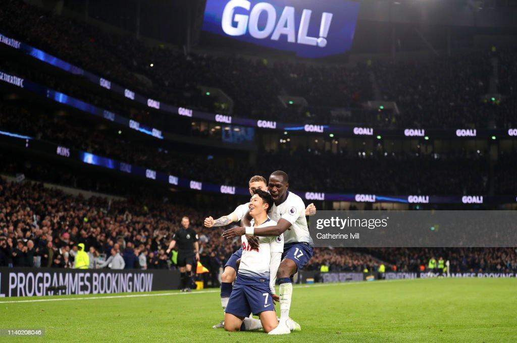 Tottenham Hotspur v Crystal Palace - Premier League : Fotografía de noticias