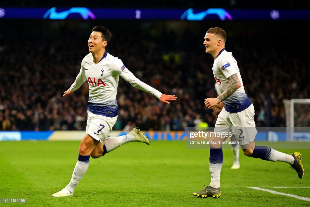 Tottenham Hotspur and Manchester City - UEFA Champions League Quarter Final: First Leg : ニュース写真