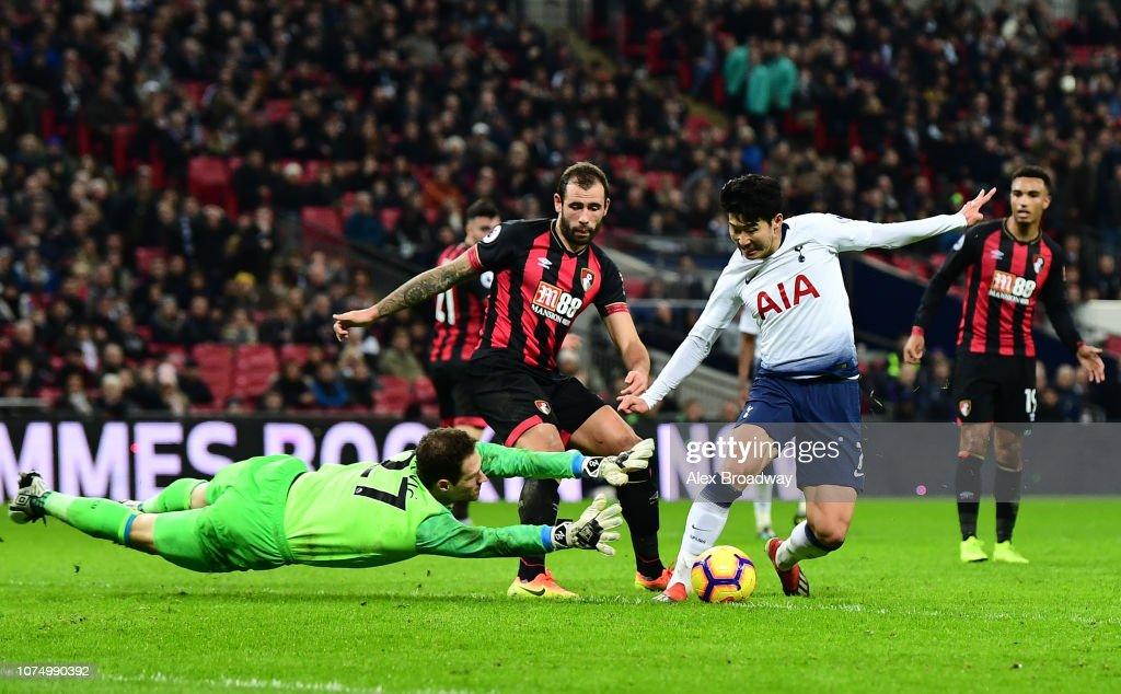 Tottenham Hotspur v AFC Bournemouth - Premier League : News Photo