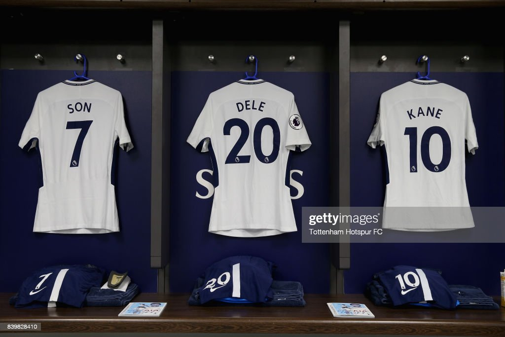 best loved 38c23 26677 Heung-Min Son of Tottenham Hotspur, Dele Alli of Tottenham ...
