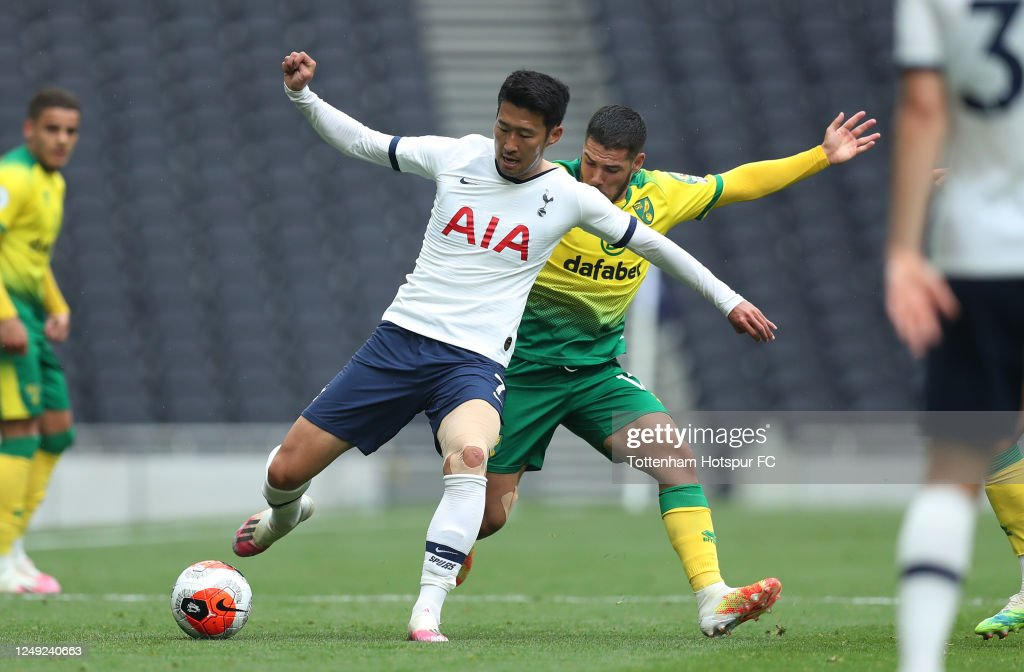 Heung-Min Son of Tottenham Hotspur during the friendly practice ...