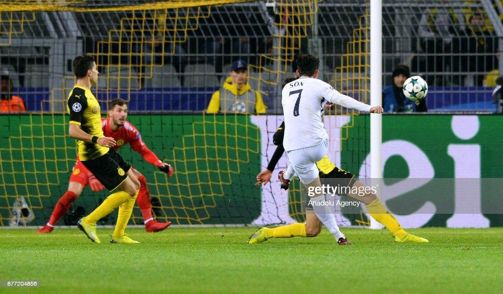 Borussia Dortmund v Tottenham Hotspur FC: UEFA Champions League : News Photo
