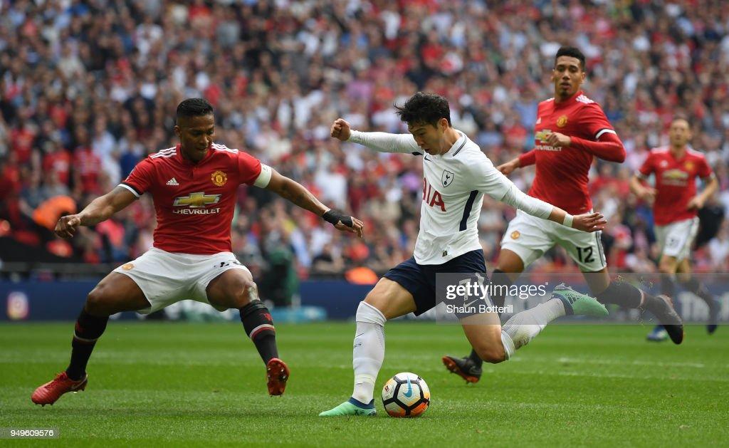Manchester United v Tottenham Hotspur - The Emirates FA Cup Semi Final : News Photo