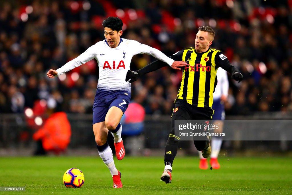 Tottenham Hotspur v Watford FC - Premier League : News Photo