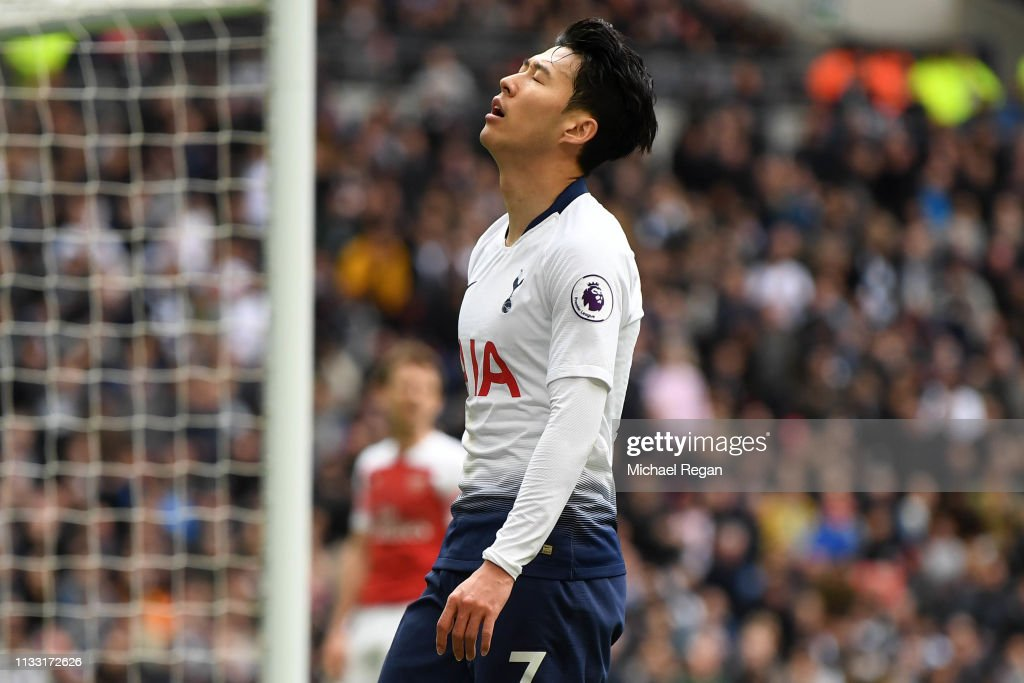 Tottenham Hotspur v Arsenal FC - Premier League : Fotografía de noticias