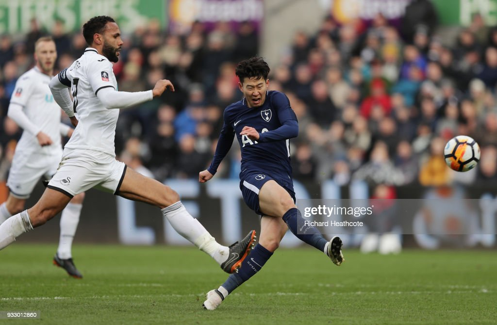 Swansea City v Tottenham Hotspur - The Emirates FA Cup Quarter Final