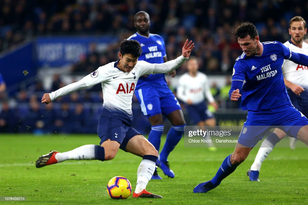 Cardiff City FC v Tottenham Hotspur - Premier League : News Photo